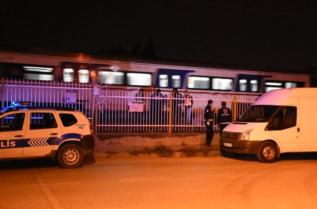 İZBAN treninin çarptığı kişi hayatını kaybetti