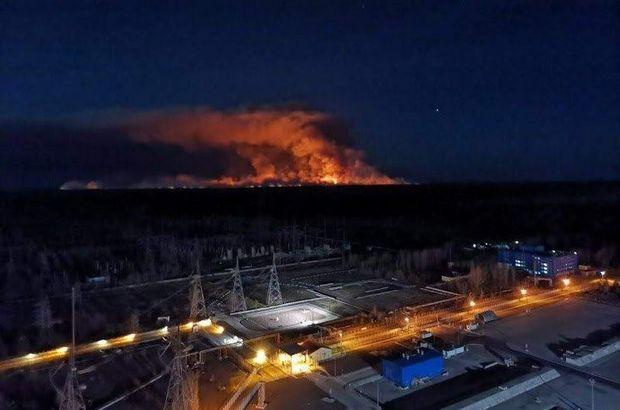 Çernobil yangını Kiev'in hava kalitesini bozdu