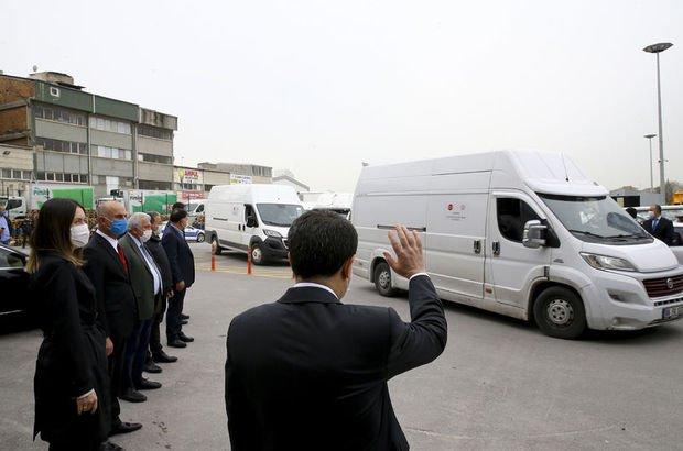 Ankara'da 80 bin gıda kolisi yola çıktı