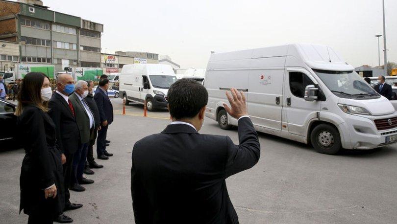 Ankara'daki ihtiyaç sahipleri için hazırlanan 80 bin gıda kolisi yola çıktı