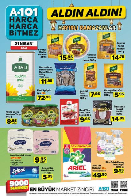 A101 22 Nisan Aktüel ürünler kataloğu! A101'de bu hafta indirimli neler var?