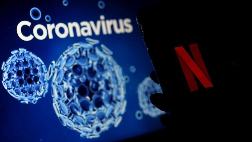 koronavirüs netflix