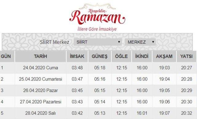 İftar vakitleri 2020! İstanbul, Ankara, İzmir iftar ve sahur saatleri açıkladı! İl il imsakiye iftar ve sahur saatleri kaçta?