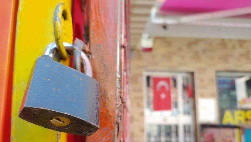 Marketler 30 büyükşehirde saat 14.00'de kepenk kapattı