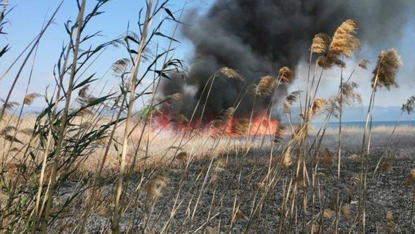 İznik'teki çöplükte çıkan yangın halkta tedirginliğe yol açtı