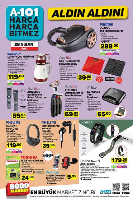 A101 BİM ŞOK aktüel ürünler kataloğu! 25 Nisan -28 Nisan 1 Mayıs 2020 ŞOK A101 BİM katalog ürünleri