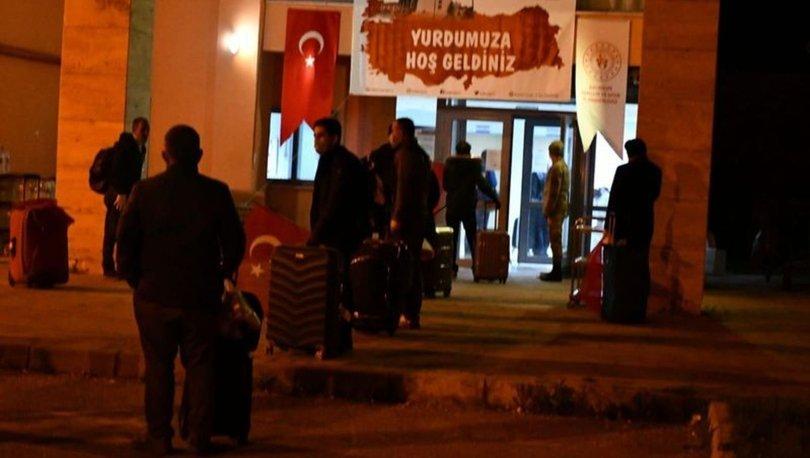 Türk vatandaşlarının yurt dışından tahliyesi sürüyor