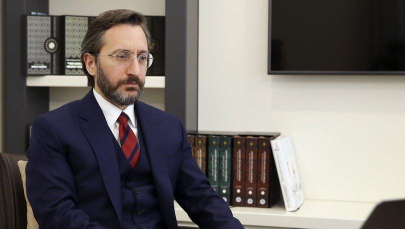 İletişim Başkanı Fahrettin Altun: