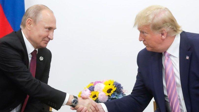 Putin ve Trump'tan Elbe'deki temasın 75'inci yılında ortak açıklama