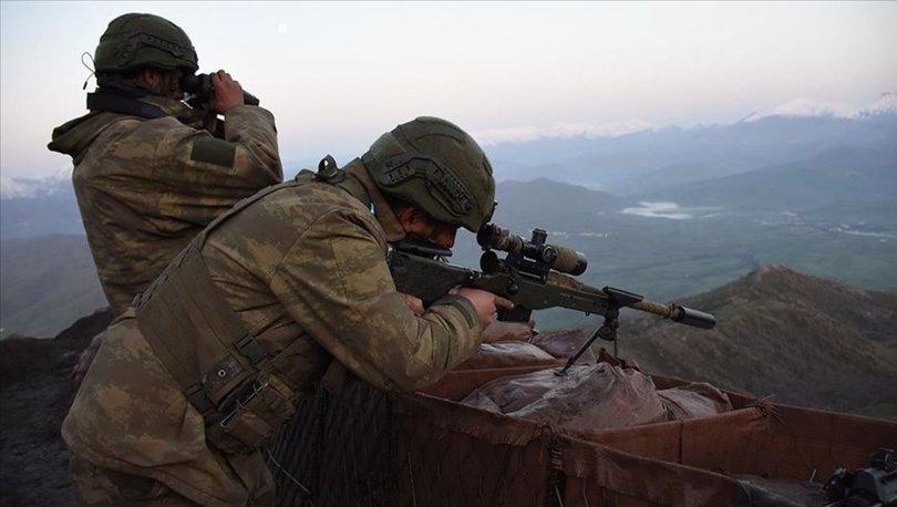 MSB: Irakın kuzeyinde 12 terörist etkisiz hale getirildi
