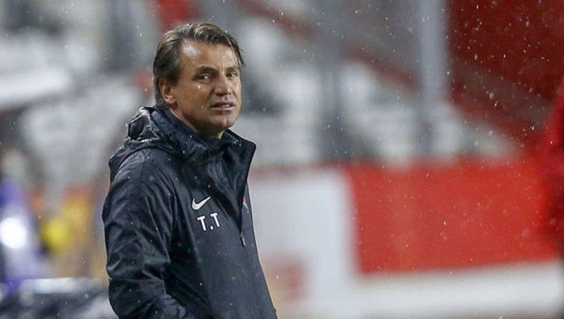 Antalyaspor Teknik Direktörü Tuna: