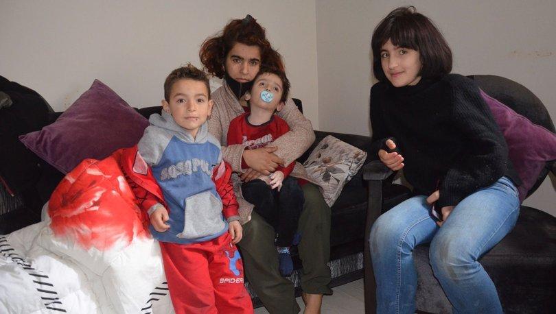 Şiddet uygulayan eşinden boşandı, 1'i engelli 3 çocuğu ile yaşam mücadelesi veriyor!