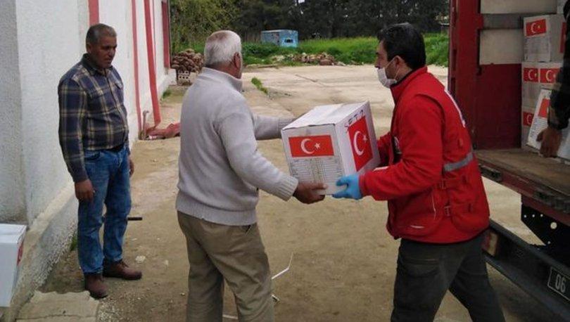 Barış Pınarı Harekatı bölgesine ramazan yardımı