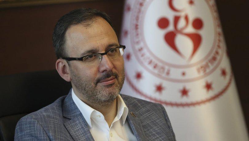 Bakan Kasapoğlu'ndan olimpik ve paralimpik sporculara tesis müjdesi