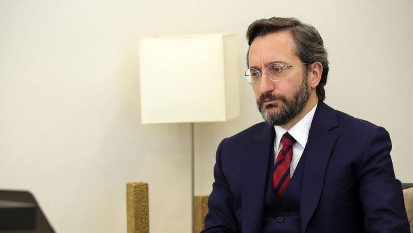 Fahrettin Altun: Türkiye'nin mücadelesi dünyaya emsal