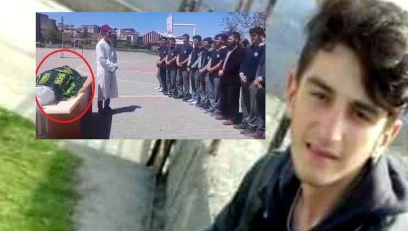 Patpat kazasında ölen genç cenaze provası yapmış!