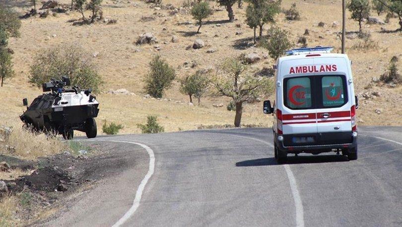 PKKlı teröristlerin yola tuzakladığı patlayıcı infilak etti: 1 yaralı