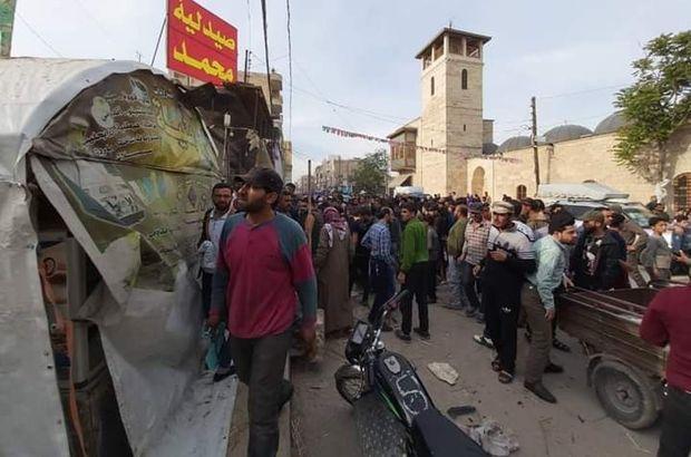 El Bab'da hain saldırı: 5 yaralı!