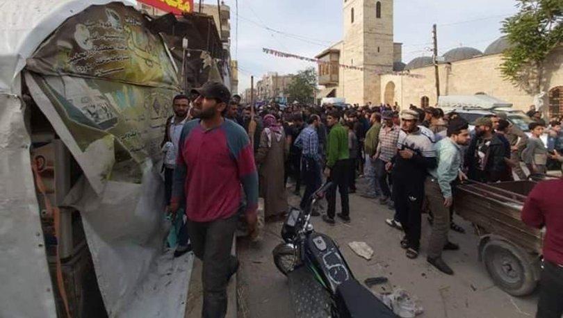 Son dakika haberler... Bab'da bombalı terör saldırısı: 5 yaralı