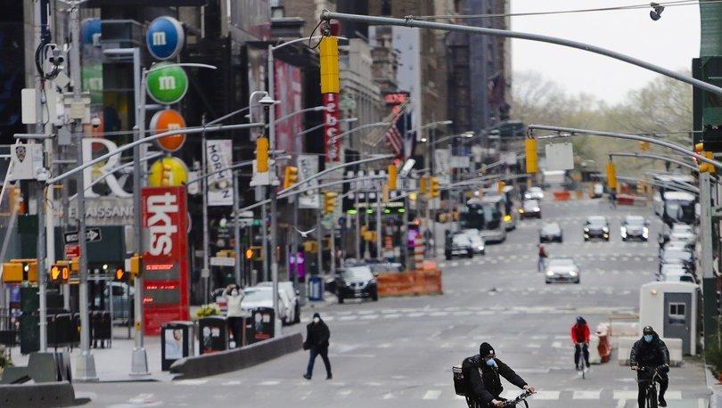 New York'ta bazı sokaklar yayalara