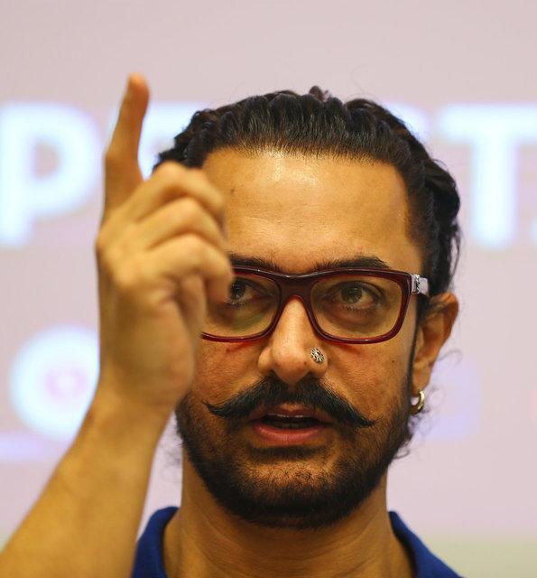 O yardımı Aamir Khan yapmamış