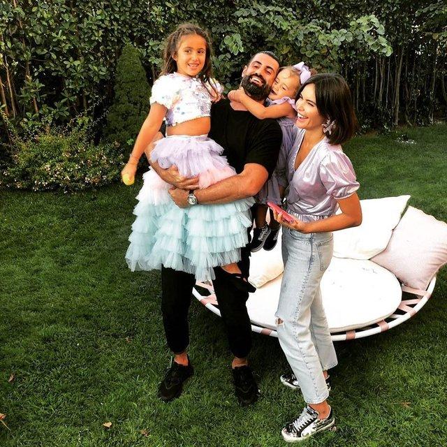 Volkan Demirel'den kızlarıyla paylaşım - Magazin haberleri