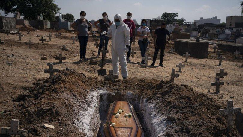 Brezilya'da Kovid-19 nedeniyle son 24 saatte 338 can kaybı