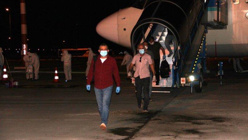 Nijer ve Mali'den getirilen vatandaşlara Erzurum'da karantina