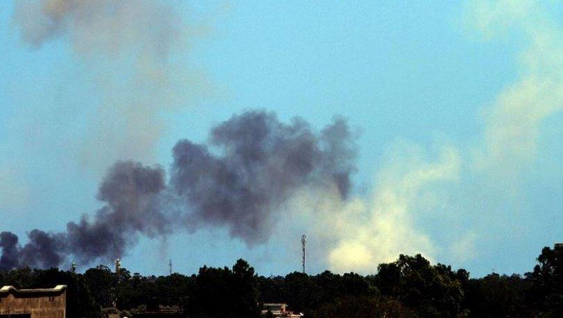 Libya hükümet güçlerinden Hafter milislerine hava saldırısı - HABERLER