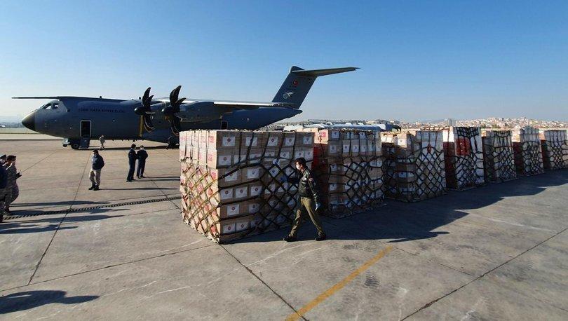 Son dakika! Flaş açıklama! ABD'ye gönderilecek yardım malzemeleri hazır - Haber