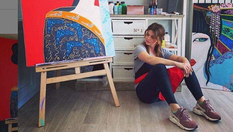 Pelin Karahan'dan 'sanatsal' çalışma - Magazin haberleri