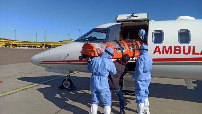 Bakan Koca açıkladı! Bu yıl 453 hasta uçak ambulansla taşındı