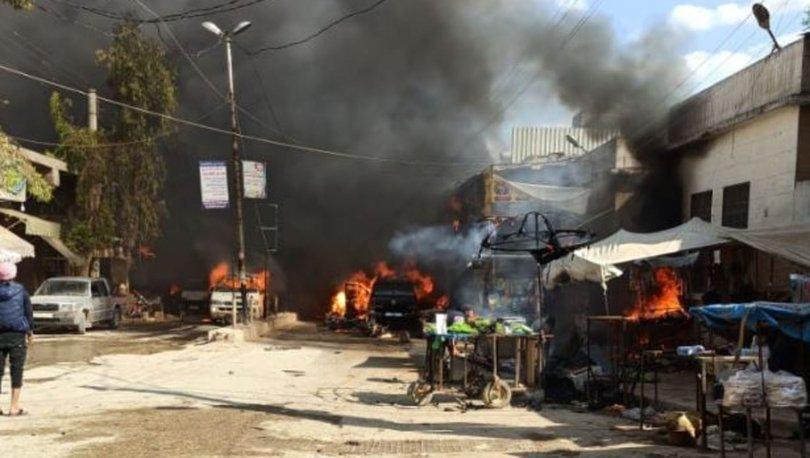 Son dakika haberleri! Afrin'de bomba yüklü tankerle terör saldırısı! 40 sivil hayatını kaybetti!