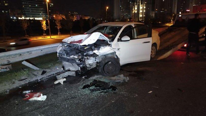 Esenyurt'ta trafik kazası: 2'si ağır 5 yaralı - HABERLER