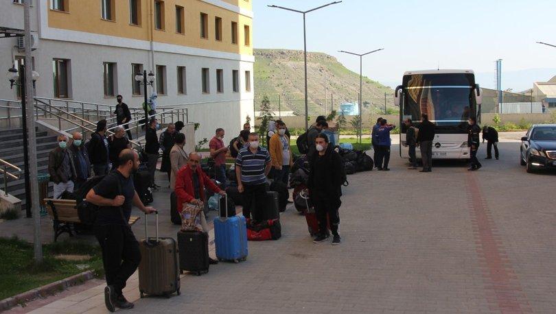 Karantina süresi dolan 336 kişi evlerine gönderildi