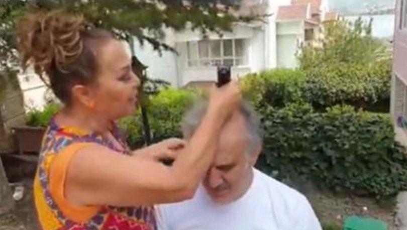Safiye Soyman, Faik Öztürk'ün saçlarını sıfıra vurdu - Magazin haberleri