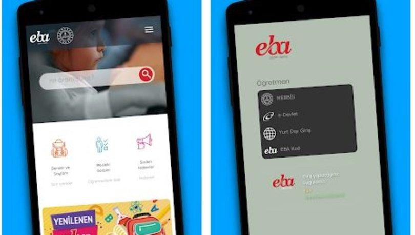 EBA canlı ders uygulaması indir! EBA canlı ders uygulaması nasıl indirilir? Android - iOS