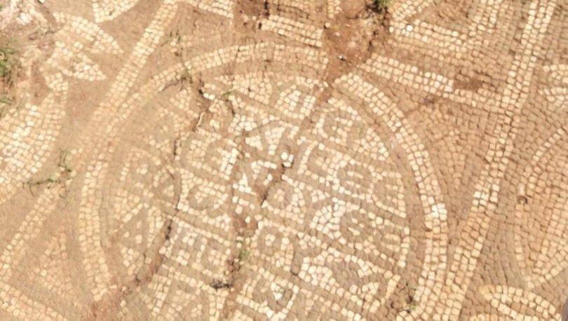 Son dakika haberler... Tarihi eser mozaiği 100 milyon liraya satmaya çalışırken yakalandılar!