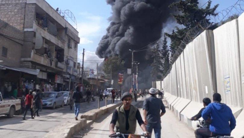 Son dakika haberler... Afrin'de hain saldırının ardından alarm durumu