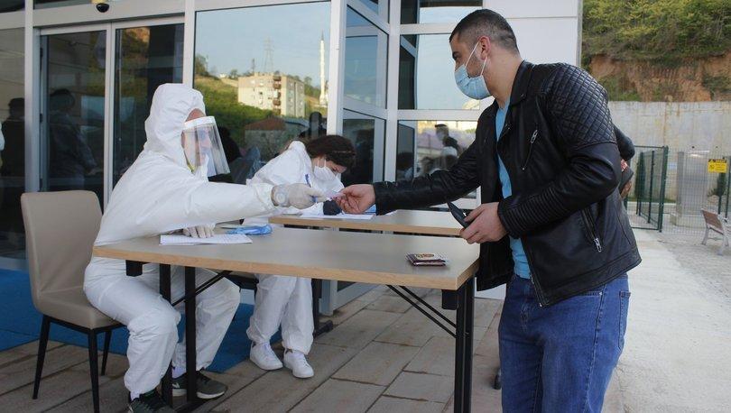 Rusya'dan getirilen 161 Türk vatandaşı Trabzon'da karantinaya alındı!
