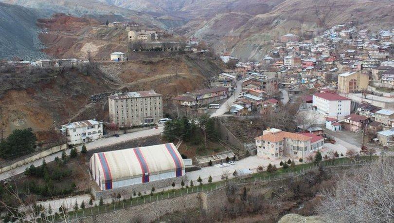 Elazığ'ın Maden ilçesinde araç giriş ve çıkışlarına sınırlandırma