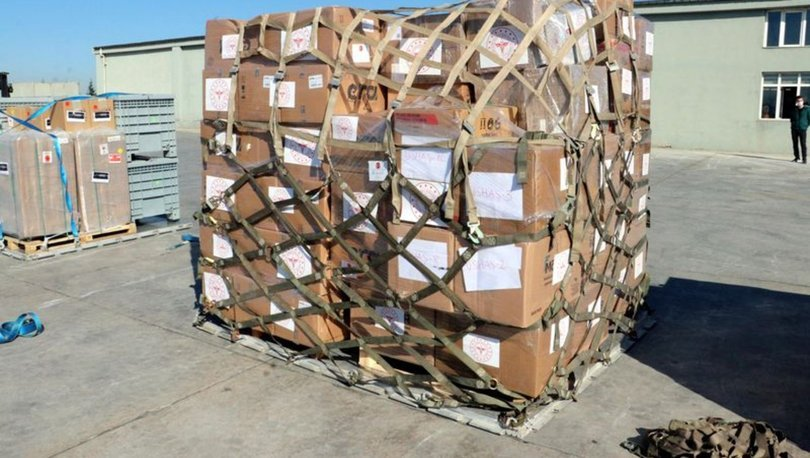 Türkiye'den Güney Afrika'ya tıbbi malzeme yardımı gidiyor