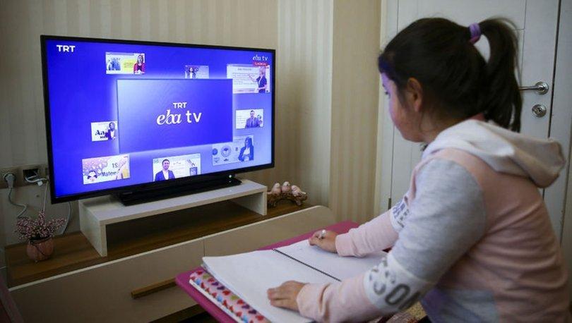 EBA TV canlı yayın ders İZLE 29 Nisan 2020! İlkokul, ortaokul, lise TRT EBA  TV canlı dersleri izle | Gündem Haberleri