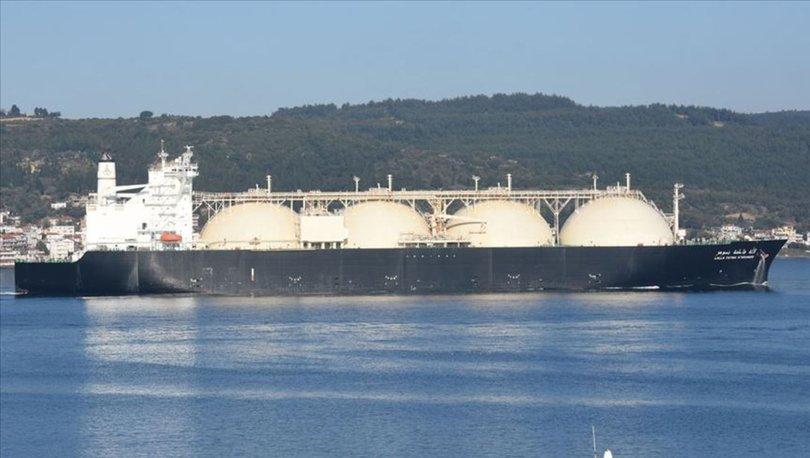 Türkiye'nin LNG ithalatı 2019'da 1,1 milyon ton arttı