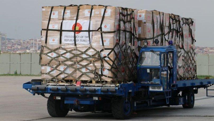 Türkiye, Filistin'e tıbbi yardım gönderiyor!