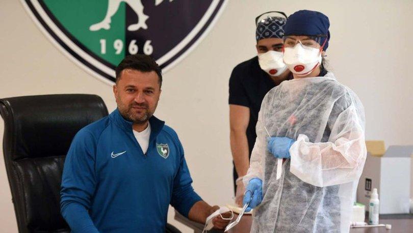 Denizlispor'da koronavirüse rastlanmadı