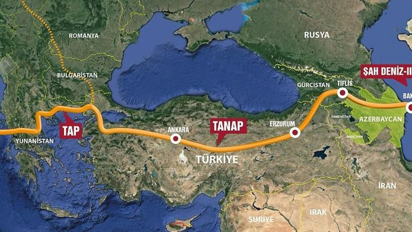 Cumhurbaşkanı Erdoğan TANAP Projesi'yle ilgili bir makale yazdı