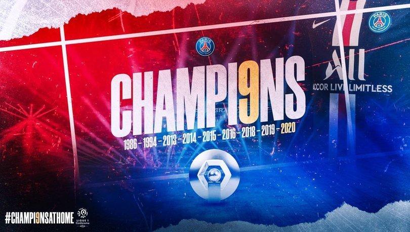 PSG, şampiyonluğu sağlık çalışanlarına adadı