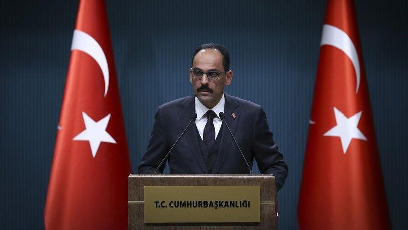 Cumhurbaşkanlığı Sözcüsü İbrahim Kalın'dan S-400 açıklaması - Haberler