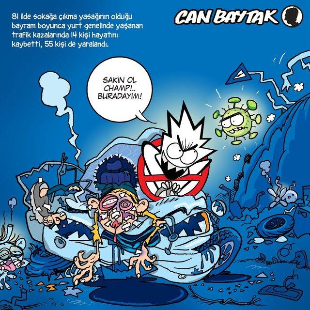Can Baytak karikatürleri (Mayıs 2020)